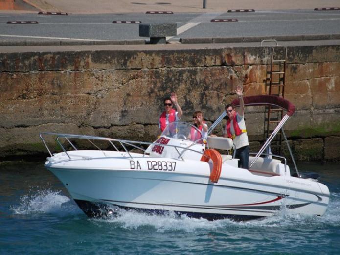 promenade bateau hossegor