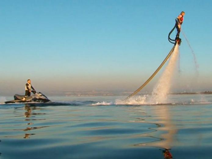 Nouvelle attraction nautique: Le FLYBOARD Hossegor